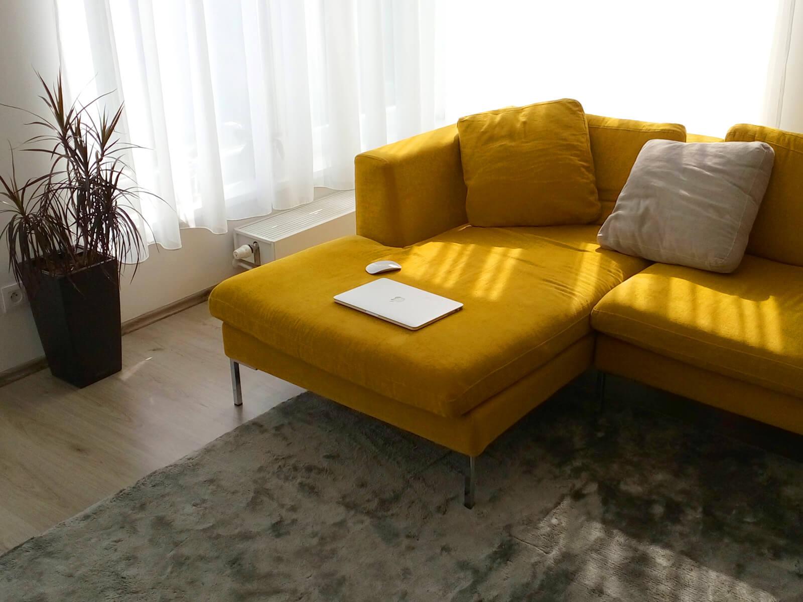 Interiér bytu pre mladý pár v Bratislave - Petržalke